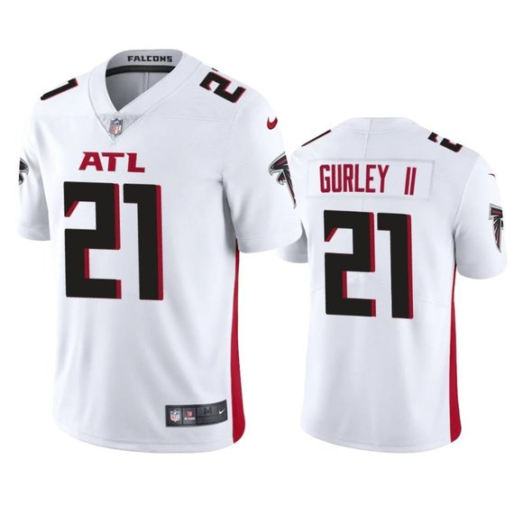 Falcons Todd Gurley II White Jersey